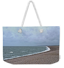 Chesil Beach November 2013 Weekender Tote Bag