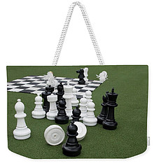 Chess Pieces Weekender Tote Bag