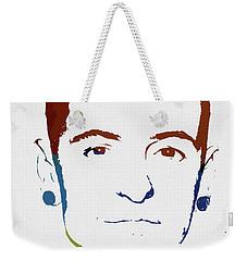 Chester Bennington Color Tribute Weekender Tote Bag
