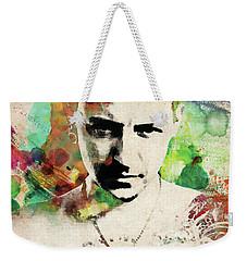 Chester Bennington Weekender Tote Bag