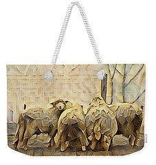 Chester County Sheep Weekender Tote Bag