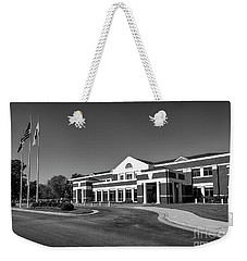 Weekender Tote Bag featuring the photograph Chesterfield Virginia Juvenile And Domestic Courts by Melissa Messick