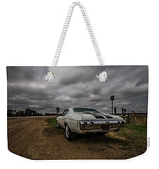 Weekender Tote Bag featuring the photograph Chevelle Ss by Aaron J Groen