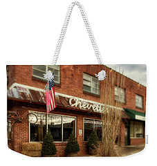 Weekender Tote Bag featuring the photograph Chevells by Greg Mimbs
