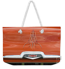 Chevrolet 30-1956 Hydramatic 3100 Weekender Tote Bag