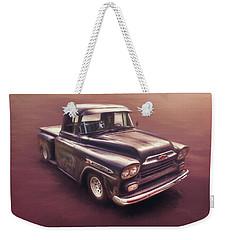 Chevrolet Apache Pickup Weekender Tote Bag