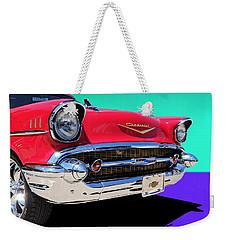 Chevrolet Bel Air Color Pop Weekender Tote Bag