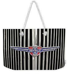 Chevrolet Weekender Tote Bag by Caitlyn Grasso
