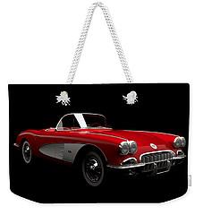 Chevrolet Corvette C1 Weekender Tote Bag