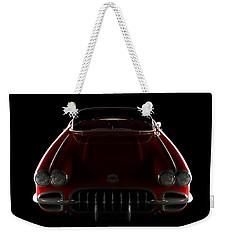 Chevrolet Corvette C1 - Front View Weekender Tote Bag