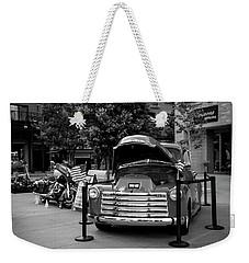 Chevrolet Weekender Tote Bag by Ester Rogers