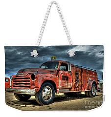 Chevrolet Fire Truck Weekender Tote Bag