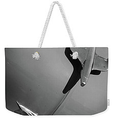 Weekender Tote Bag featuring the photograph Chevrolet  by Kelly Hazel