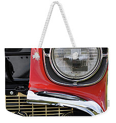 Weekender Tote Bag featuring the photograph Chevy Bel Air by Glenn Gordon