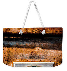 Chevy C10 Rusted Emblem Weekender Tote Bag