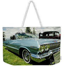 Weekender Tote Bag featuring the photograph Chevy Classic by Nick Boren