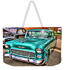 Chevy Cruising 55 Weekender Tote Bag
