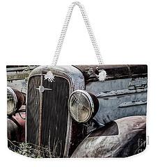 Chevy Grill IIi Weekender Tote Bag