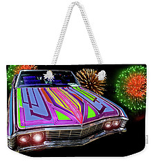 Chevy Night Weekender Tote Bag