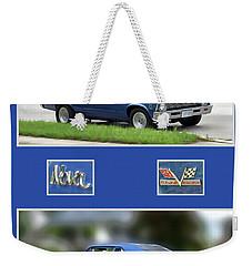 Chevy Nova Vertical  Weekender Tote Bag