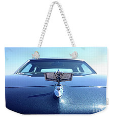 Weekender Tote Bag featuring the photograph Chevyhood by Mariella Wassing