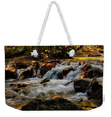 Cheyenne Canyon Autumn Weekender Tote Bag by Ellen Heaverlo