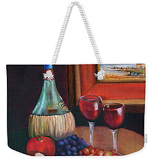 Chianti Still Life Weekender Tote Bag