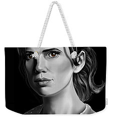 Chiaroscuro And A Beautiful Woman Weekender Tote Bag
