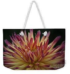 Chiaroscuro Dahlia Weekender Tote Bag
