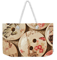 Chic Button Boutique Weekender Tote Bag