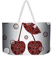 Chic Cherries Weekender Tote Bag