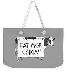 Chic Filet T-shirt Weekender Tote Bag