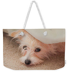 Chica In Hiding Weekender Tote Bag