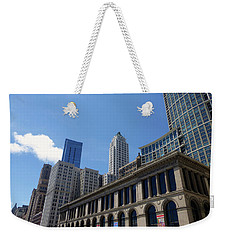Weekender Tote Bag featuring the photograph Chicago 2016 1 by Tina M Wenger
