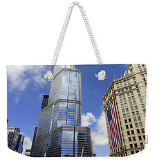 Chicago 2016 10 Weekender Tote Bag by Tina M Wenger