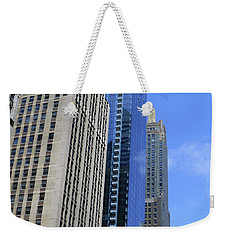 Weekender Tote Bag featuring the photograph Chicago 2016 3 by Tina M Wenger