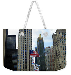 Chicago 2016 8 Weekender Tote Bag by Tina M Wenger