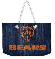 Chicago Bears Barn Door Weekender Tote Bag by Dan Sproul