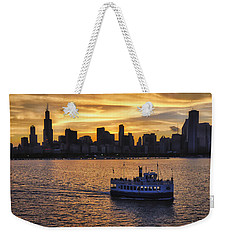 Chicago Beauty Weekender Tote Bag