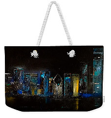 Chicago City Scene Weekender Tote Bag