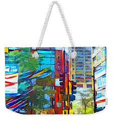 Chicago Colors 1 Weekender Tote Bag