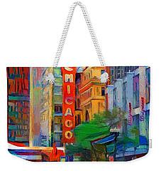 Chicago Colors 3 Weekender Tote Bag