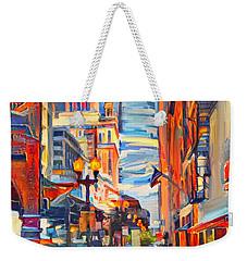 Chicago Colors 4 Weekender Tote Bag