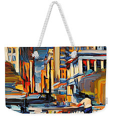 Chicago Colors 7 Weekender Tote Bag
