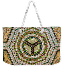 Chicago Cultural Center Ceiling Weekender Tote Bag