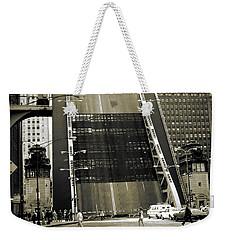 Old Chicago Draw Bridge - Vintage Photo Art Print Weekender Tote Bag