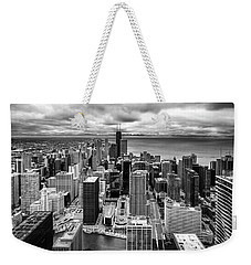 Chicago From The 70th Floor Weekender Tote Bag