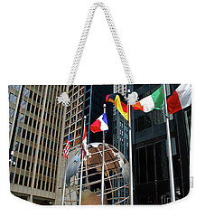 Weekender Tote Bag featuring the photograph Chicago by Gary Wonning
