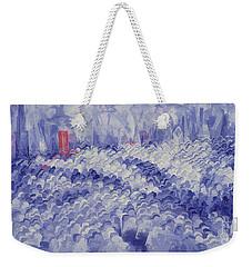 Chicago II Weekender Tote Bag by Bayo Iribhogbe