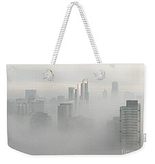 Chicago In The Clouds Weekender Tote Bag